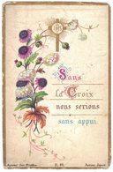 ST SULPICE SOUVENIR GAYOT EN 1883 SANS LA CROIX NOUS SERIONS SANS  IMAGE PIEUSE RELIGIEUSE HOLY CARD SANTINI PRENTJE - Images Religieuses