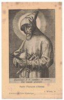 SOUVENIR SR ELISABETH A SR CLAIRE SAINT FRANCOIS D'ASSISE IMAGE PIEUSE RELIGIEUSE HOLY CARD SANTINI PRENTJE - Santini
