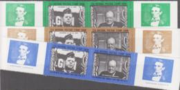 USA - CINDERELLA - 1965- NEW YORK SHOW/CHURCHILL/LINCOLN/KENNEDY  LABELS IN BROWN GREEN AND BLUE MNH - Locals & Carriers
