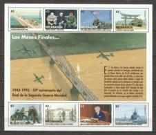 Nicaragua 1996 Kleinbogen 3702-3709 MNH WORLD WAR 2 - WO2