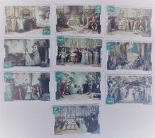 La Belle Au Bois Dormant - Lot De 10 Cartes Postales - Film Pathé - Colorisées - Circulées:1909 - 2 Scans - Contes, Fables & Légendes