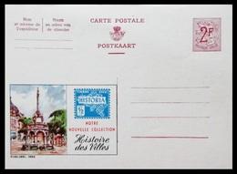 BELGIQUE ENTIER CP PUBLIBEL N° 1692. HISTORIA. HISTOIRE DES VILLES . NEUF - Stamped Stationery