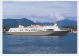 Br9.j- Paquebot SCANDOLA CORSE CORSICA CMN La Meridionale Transmediterraneenne SNCM Ferryterranee - Dampfer