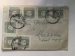 CROATIA    NDH   COVER  PITOMACA   PITOMAČA   1943. - Kroatien