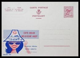 BELGIQUE ENTIER CP PUBLIBEL N° 2066 . COTE BELGE . BELGISCHE KUST . NEUF - Stamped Stationery