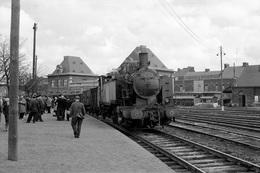 Denain-Mines. Chemin De Fer Des Houillères Nationales. Cliché Jacques Bazin. 04-10-1958 - Treni