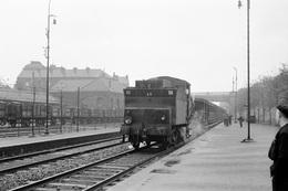 Anzin. Chemin De Fer Des Houillères Nationales. Locomotive A3. Cliché Jacques Bazin. 26-09-1957 - Treni