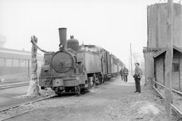 Vieux-Lourches. Chemins De Fer Du Cambrésis. Cliché Jacques Bazin. 16-03-1954 - Trains