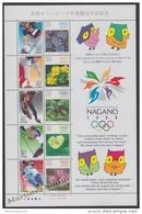 Japan - Japon 1998 Yvert 2403-12, Winter Olympic Games, Nagano - MNH - Neufs