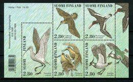 FINLANDE 1996 N° 1318/1322 ** Neufs MNH Superbes C 11,25 € Faune Oiseaux Echassiers Vanneau Bécasse Birds Animaux - Finland
