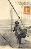 72- St Brévin-les-Pins ( L. Atl. ) La Mère Moreau, La Pêcheuse De Boucauts -F Chapeau - Saint-Brevin-l'Océan