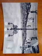 FIRENZE ANIMATA Particolare Del Piazzale Michelangelo E Panorama VIAGGIATA 1955 - Firenze