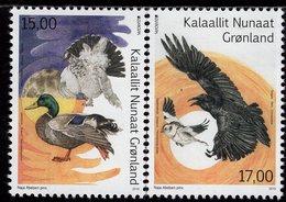 Greenland - 2019 - Europa CEPT - National Birds - Mint Stamp Set - Ungebraucht