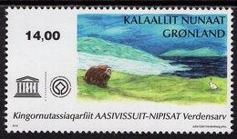 Greenland - 2019 - UNESCO World Heritage - Aasivisuit - Mint Stamp - Grönland