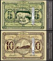 Greenland - 2019 - Old Greenlandic Banknotes, Part III - Mint Souvenir Sheets Set - Greenland
