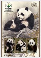 UNO ONU 2019 MS MNH China 2019 World Stamp Exhibition 11-17 June 2019 Goodwill Ambassadors Panda Panda Bear Ours - Filatelistische Tentoonstellingen