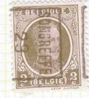 "OCB 191  /   OCVB  4579    SOMBREFFE ""29""  B - Roulettes 1920-29"