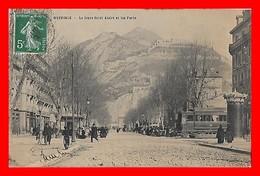 CPA (38) GRENOBLE. Le Cours Saint-André Et Les Forts, Animé, Tramway...J341 - Grenoble