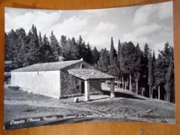 FIRENZE Ceppeto Monte Morello La Cappella BELLA TIMBRATURA VIAGGIATA 1957 - Firenze