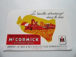 Moisonneuses-Batteuses Mc CORMICK International - La Récolte Directement Dans Le Sac - Agriculture
