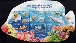 Hong Kong - 2019 - Underwater World Of Hong Kong - Mint Souvenir Sheet - 1997-... Région Administrative Chinoise