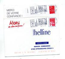 Lettre Flamme Pont Du Casse - Marcophilie (Lettres)