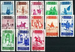 Marruecos (Español) Nº 169/80-185 USADO - Spanish Morocco