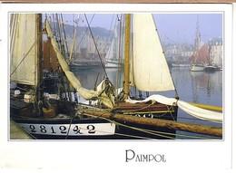 Paimpol Vieux Gréments Dans Le Bassin (barque à Voile - Paimpol