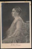 H.M.   DE KONINGIN  FOTOKAART - Koninklijke Families