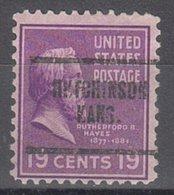 USA Precancel Vorausentwertung Preo, Locals Kansas, Hutchinson 704 - Vereinigte Staaten