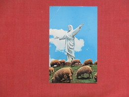 Christ Of Cuzco Chile  Has Stamp & Cancel   Corner Crease Ref 3517 - Peru