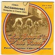 CYCLISME - BALDASSERONI - 1962 - CD  - SIMPLE SINGLE - CHAMPION DE FRANCE - - Edizioni Limitate