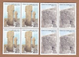 AC - TURKEY STAMP - GOBEKLITEPE SANLIURFA MNH BLOCK OF FOUR 28FEBRUARY 2019 - 1921-... Republic