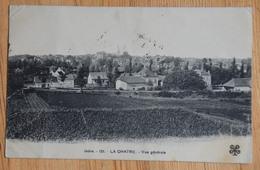 36 : La Châtre - Vue Générale - Dos : Cachet Société De Secours Aux Blessés Militaires - Hôpital Temporaire - (n°15697) - La Chatre