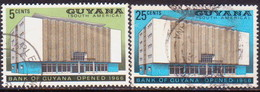GUYANA 1966 SG 412-13 Compl.set Used Bank Of Guyana - Guyana (1966-...)