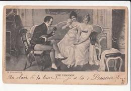 """CPA """" Une Chanson """"  Carte Précurseur  :   Achat Immédiat - Musique Et Musiciens"""