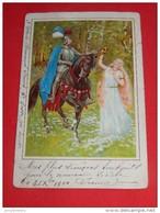 FANTAISIES -  Scène Chevaleresque  - Illustrateur Non Signé  -   1900  - - Illustrateurs & Photographes