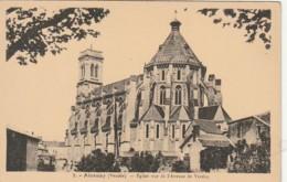 *** 85 ***    AIZENAY  église Vue De L'avenue De Verdun - Neuve TTB - Aizenay