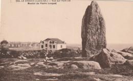 *** 44  ***  LE CROISIC  Vue Sur Port Lin Menhir De Pierre Longue - TTB  Neuve - Le Croisic