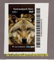 (L09) Privatpost -  Biberpost -  (aus Satz Nationalpark Harz) - Wolf (Canis Lupus) - Chiens