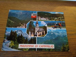147386 CARTOLINA FUNIVIA MADONNA DI CAMPIGLIO - Cartoline