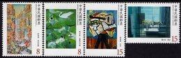 Taiwan - 2019 - Modern Taiwanese Paintings - Mint Stamp Set - 1945-... Republic Of China