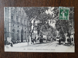 L23/21 TOULON - Boulevard De Strasbourg Et Théâtre - Toulon