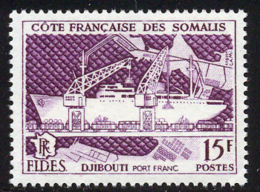 Cote Des Somalis 1956 Yvert 285 ** TB FIDES - Französich-Somaliküste (1894-1967)