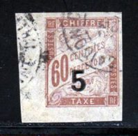 Indochine Taxe 1904 Yvert 1 (o) B Oblitere(s) - Timbres-taxe