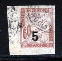 Indochine Taxe 1904 Yvert 1 (o) B Oblitere(s) - Indochina (1889-1945)