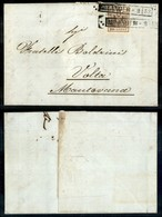 Antichi Stati Italiani - Lombardo Veneto - 30 Cent (7) - Lettera Da Milano A Volta Mantovana Del 16.2.52 - Leggera Piega - Timbres