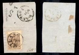 Antichi Stati Italiani - Lombardo Veneto - 30 Cent (21) Bordo Foglio - Molto Bello - Unclassified