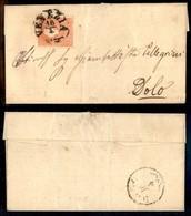 Antichi Stati Italiani - Lombardo Veneto - 5 Soldi (30) - Letterina Da Venezia A Dolo - Stamps