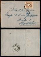 Antichi Stati Italiani - Lombardo Veneto - 10 Soldi (31) - Lettera Da Dolo A Monfalcone Del 3.11.62 - Timbres
